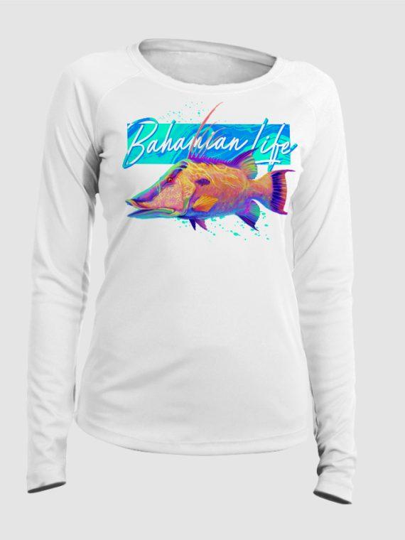 hogfish, painterly, colorful, painted, paint, bahamain, bahamian life, bahamas